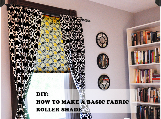 Basic fabric roller shade