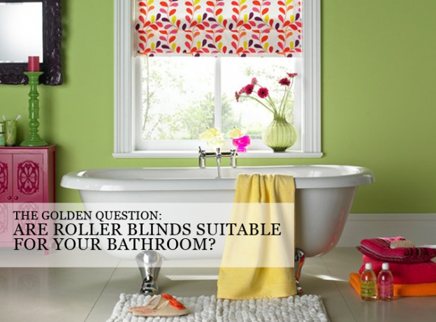 Roller Blinds For Bathroom