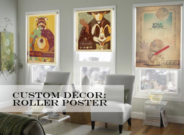 Custom Décor Roller Poster