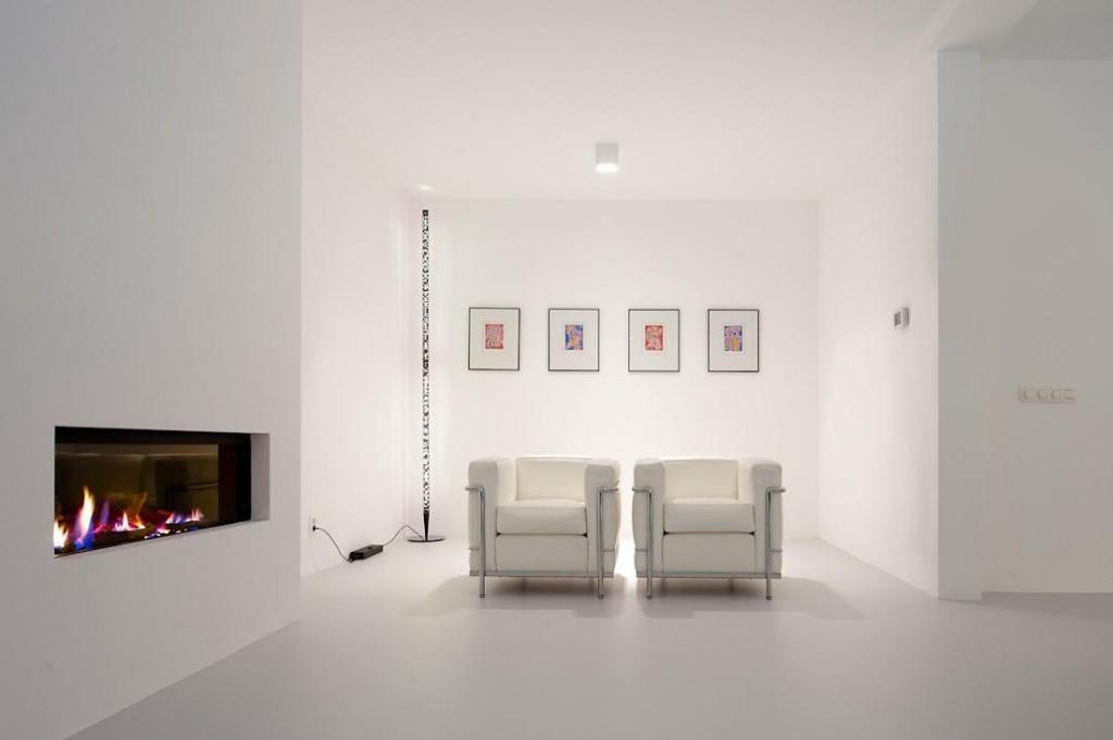 White furnishing